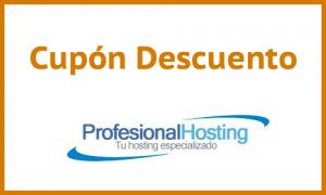Código Promocional Profesional Hosting