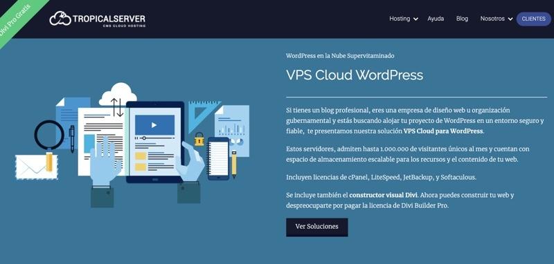VPS Tropical Server