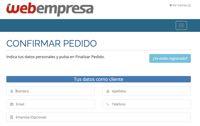Finzalizar compra Webempresa