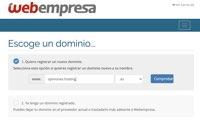 Registrar dominio con cupón