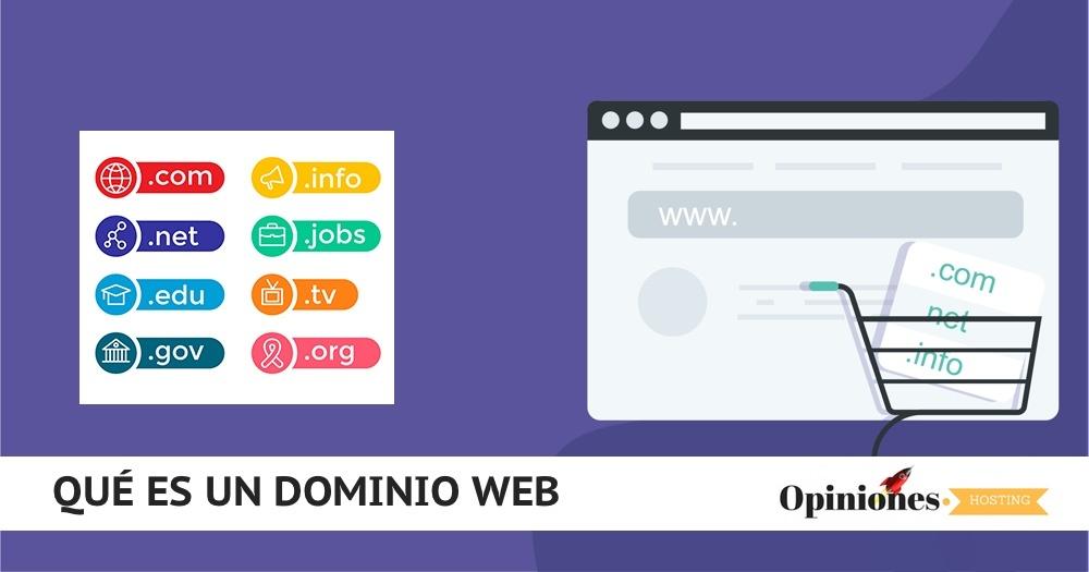 Qué es un nombre de dominio web