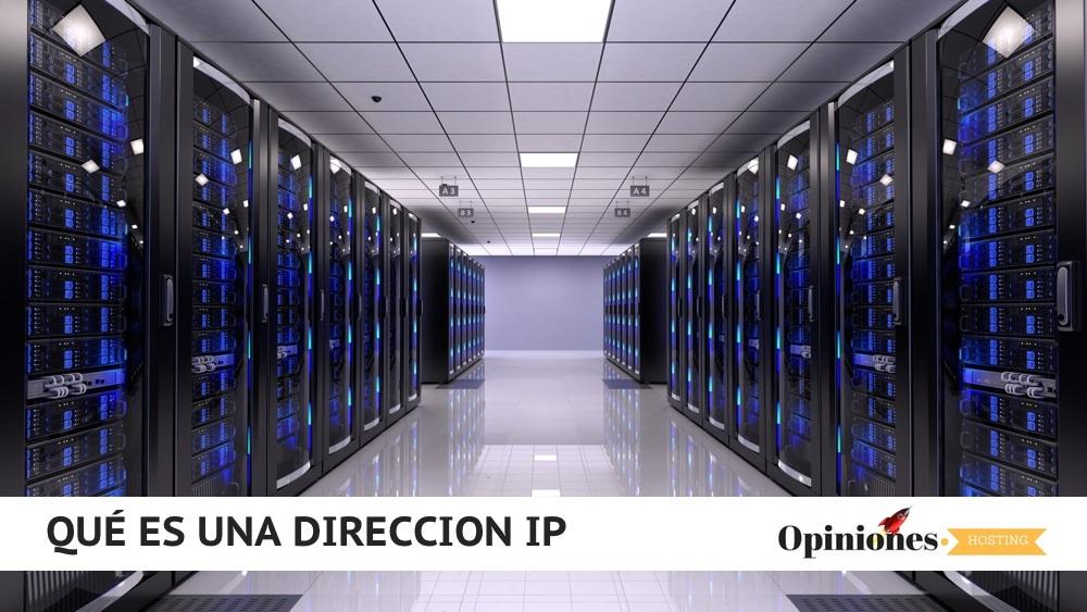 Dirección IP definición