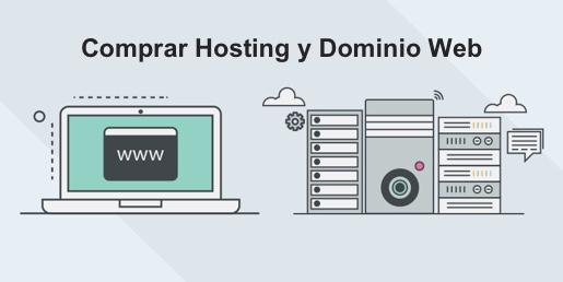 Dónde comprar hosting y dominio