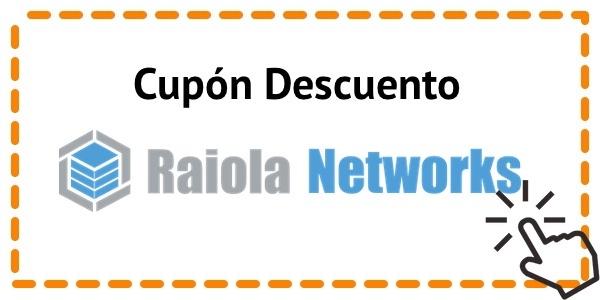 Cupón de Raiola Networks