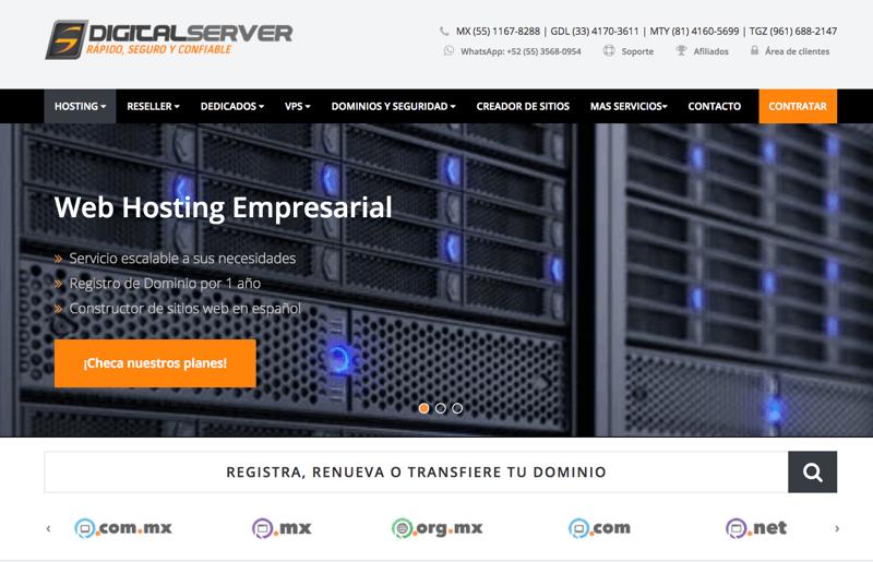 Digital Server hosting