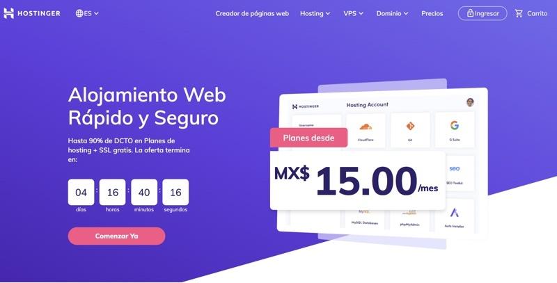 Hostinger en México