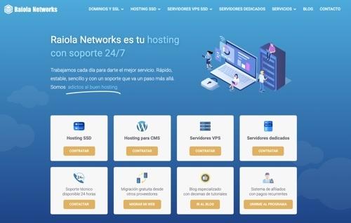 Hosting Raiola Networks