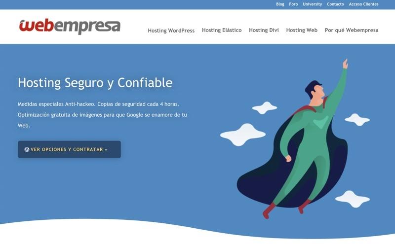 Análisis y opinión de Webempresa hosting