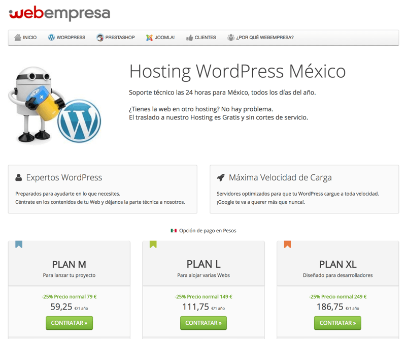 Webempresa en México