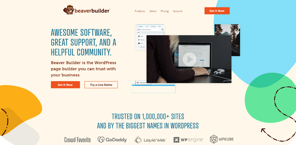 Constructor visual Beaver Builder